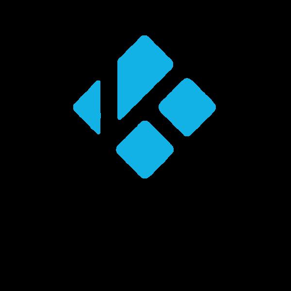 600px logo Kodi przezroczyste światło miniatury